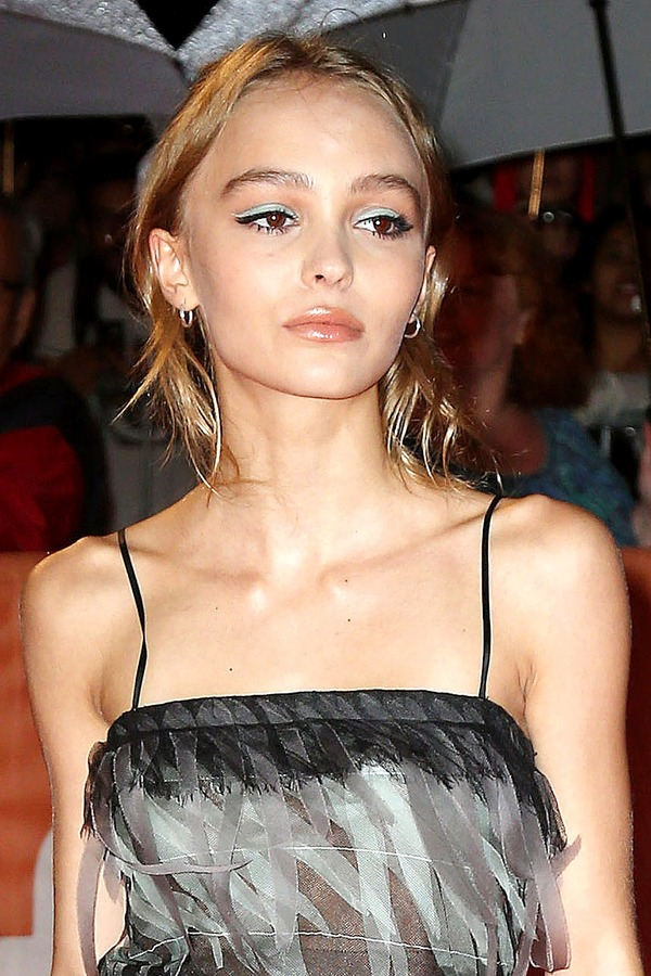 Johnny Depp has a tattoo with the name of his daughter Lily-Rose Depp