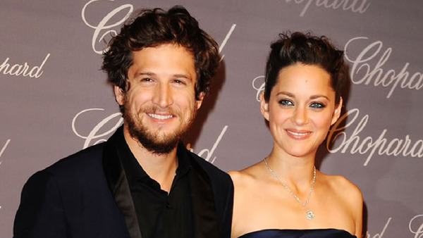 Guillaume Canet with his long-term partner Marion Cotillard