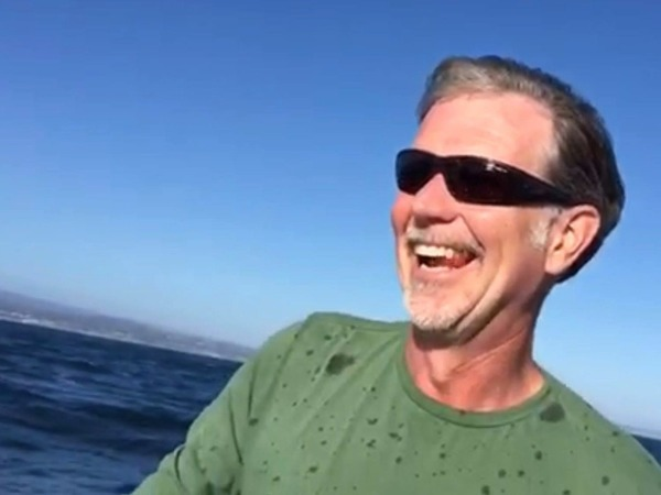 Reed Hastings on vacation