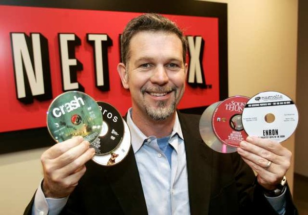 Reed Hastings source of wealth is Netflix Inc