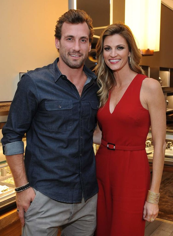 Erin Andrews and her husband Jarrett Stoll