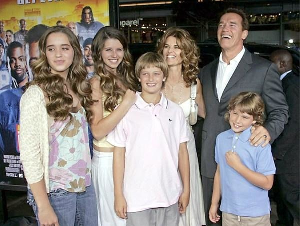 Arnold Schwarzenegger Kids and Wife