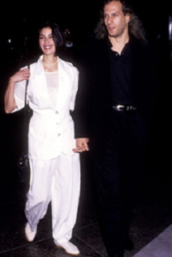 Michael Bolton and the actress Teri Hatcher