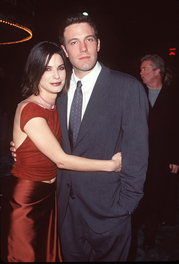 Ben Affleck and Sandra Bullock
