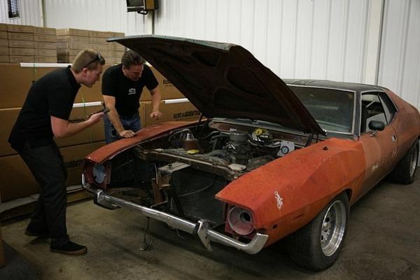 Dennis Collins car collection