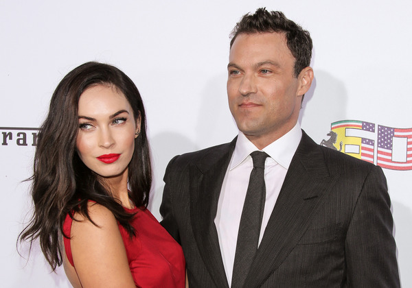 Brian Green and his happy wife Megan Fox