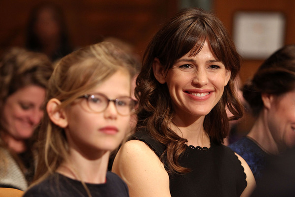 Jennifer Garner with her eldest daughter Violet Affleck