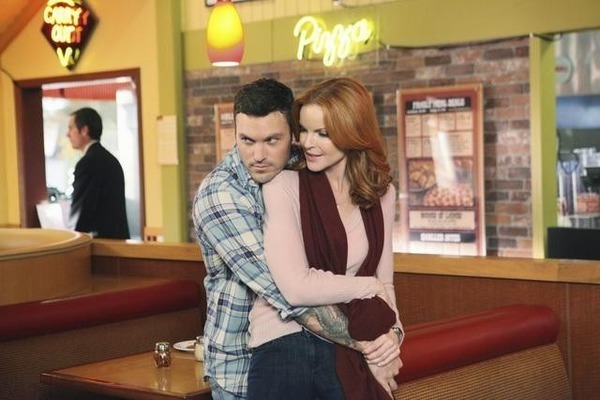 Brian Green and Marcia Cross in Desperate Housewives