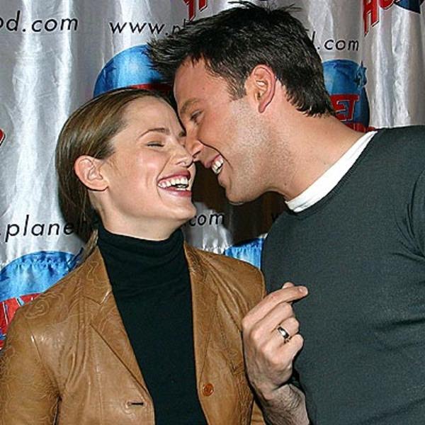 Ben Affleck and his ex-wife Jennifer Garner
