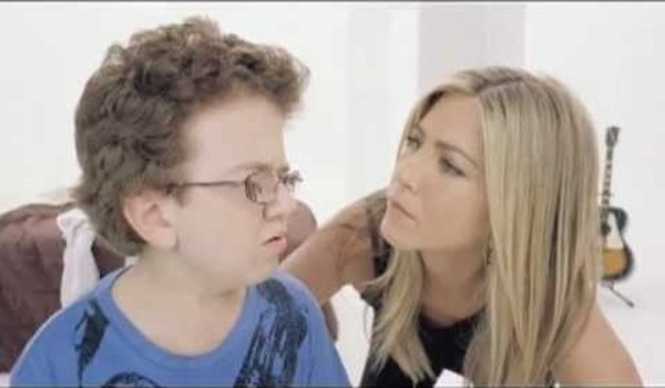 Keenan Cahill and Jennifer Aniston