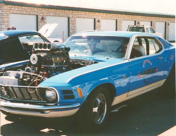 Dennis Collins Lawman Mustang