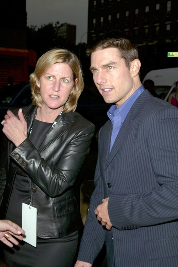 Tom Cruise and his sister Lee Ann