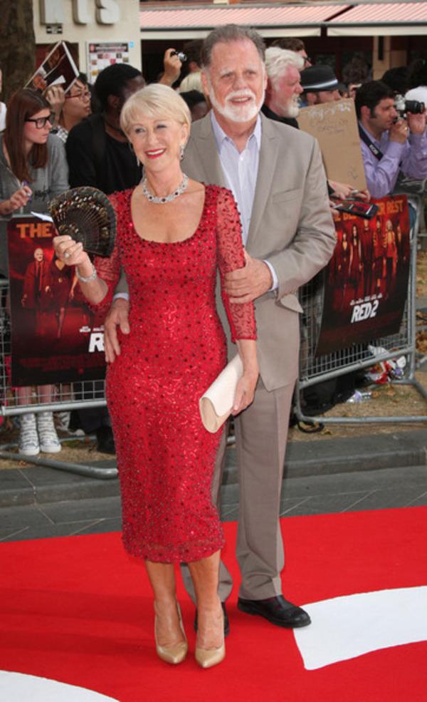 Helen Mirren and her husband Taylor Hackford