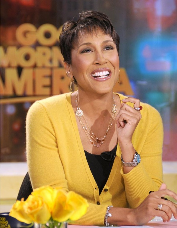 Robin Roberts hosts GMA