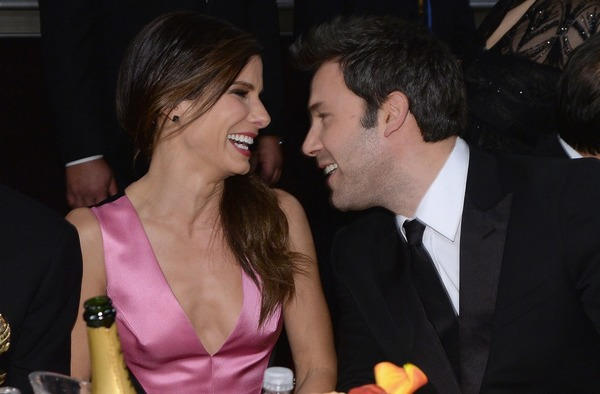 Ben Affleck and his rumored girlfriend Sandra Bullock