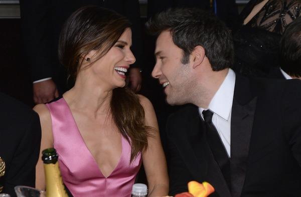 Ben Affleck and his rumored girlfriend Sandra Bullock