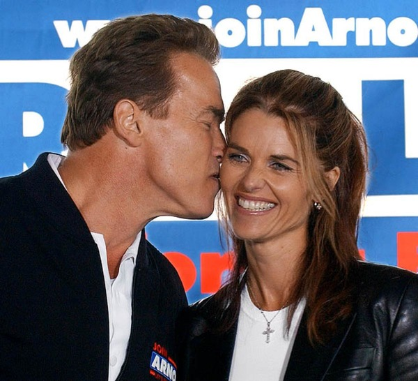 Arnold Schwarzenegger and his ex-wife Maria Shriver