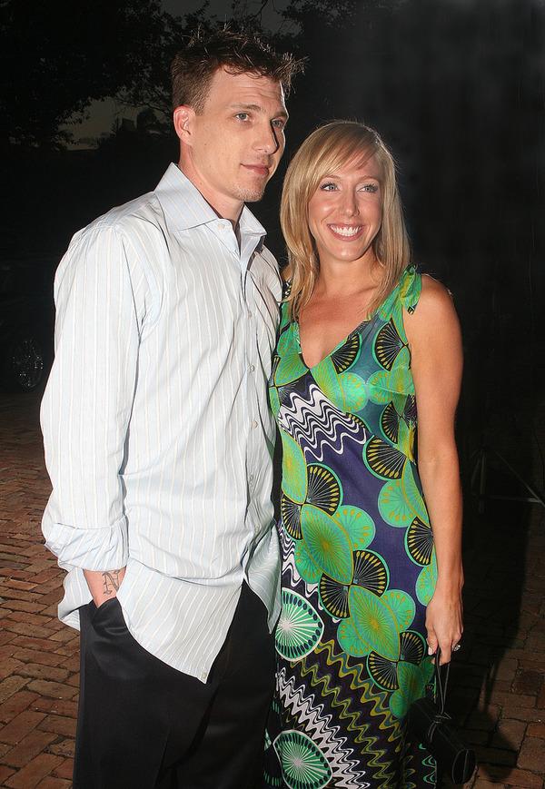 Jason Williams and his wife Denika