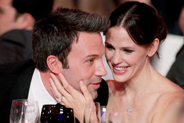 Ben Affleck wife Jennifer Garner with her husband