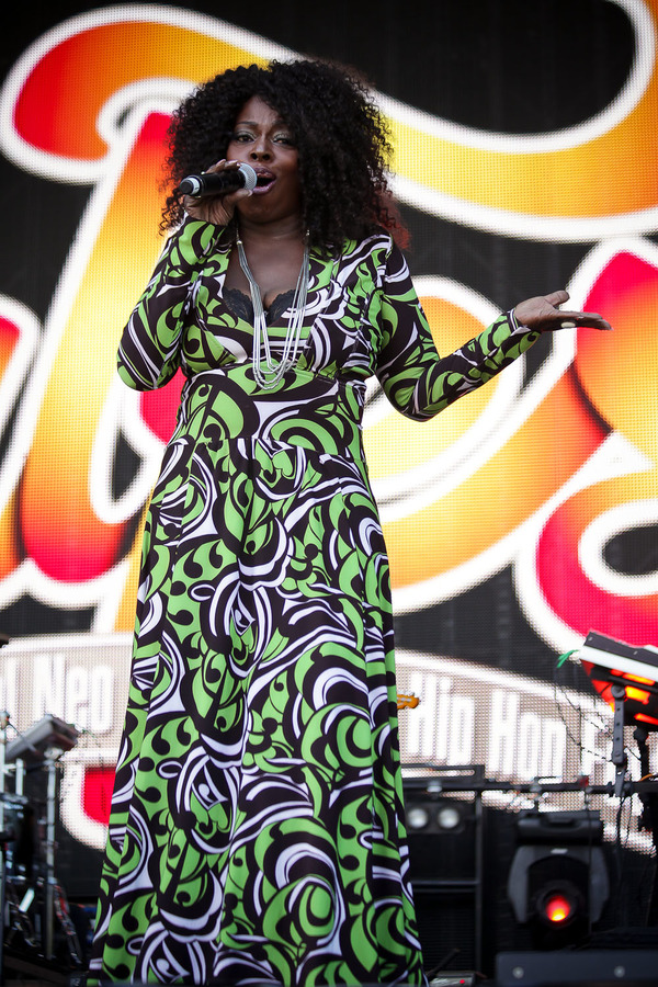 Angie Stone performing