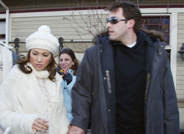 Ben Affleck with Jennifer Lopez