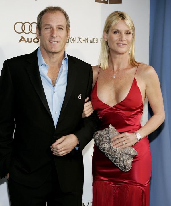 Michael Bolton and his ex-girlfriend Nicollette Sheridan