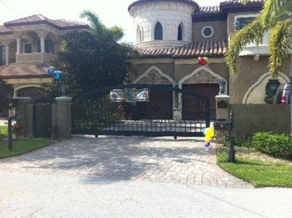 Plaxico Burress house