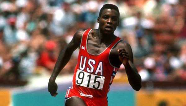 Carl Lewis as one of greatest sprinters of all times