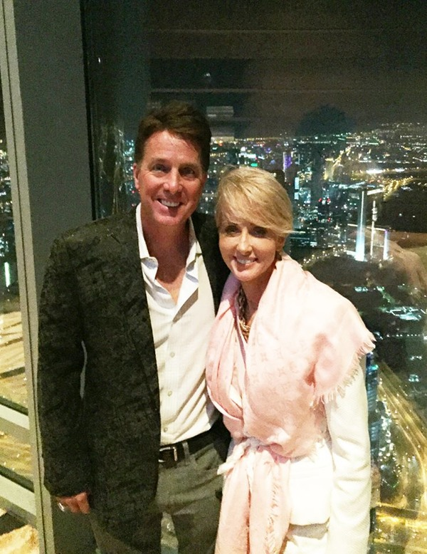 Dennis Collins with his wife