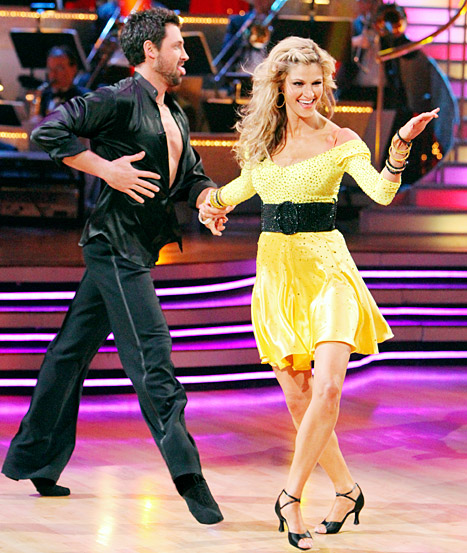 Erin Andrews and Maks Chmerkovskiy at DWTS