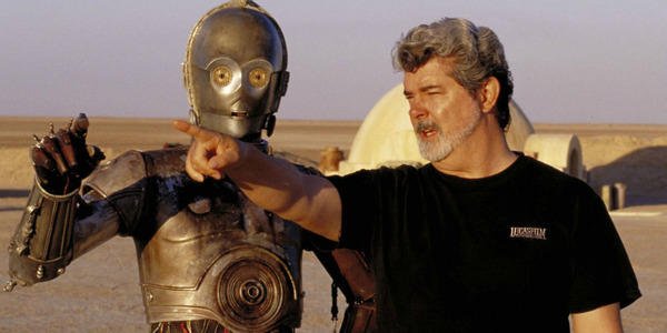 George Lucas is filming Star Wars