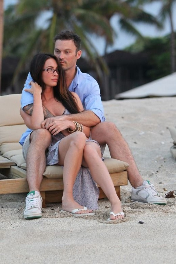 Megan Fox and Brian Green honeymoon