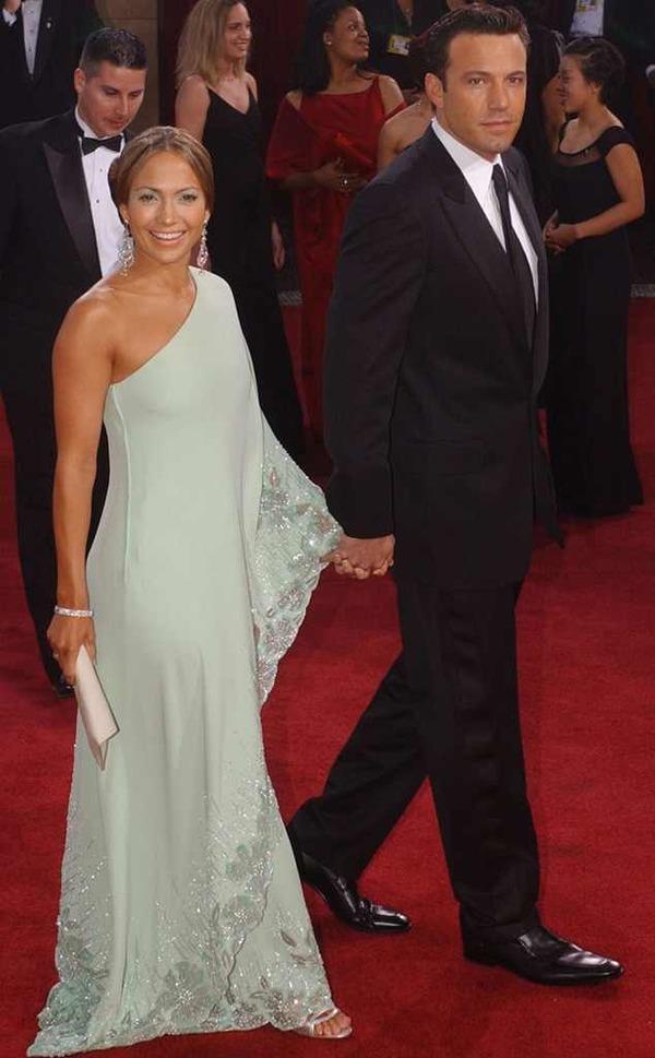 Ben Affleck and his ex-fiancee Jennifer Lopez