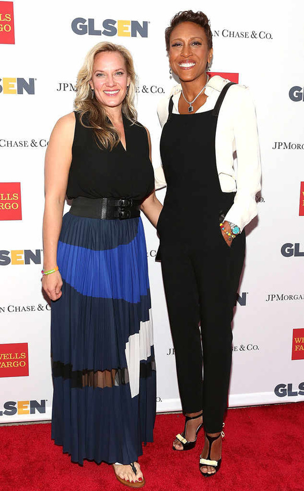 Robin Roberts with her girlfriend Amber Laign