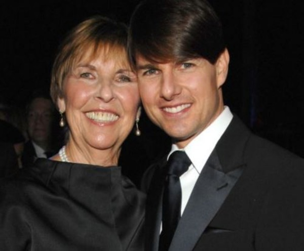 Tom Cruise and his mother Mary Lee