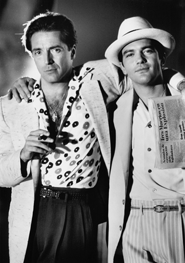 Armand Assante and Antonio Banderas in The Mambo Kings