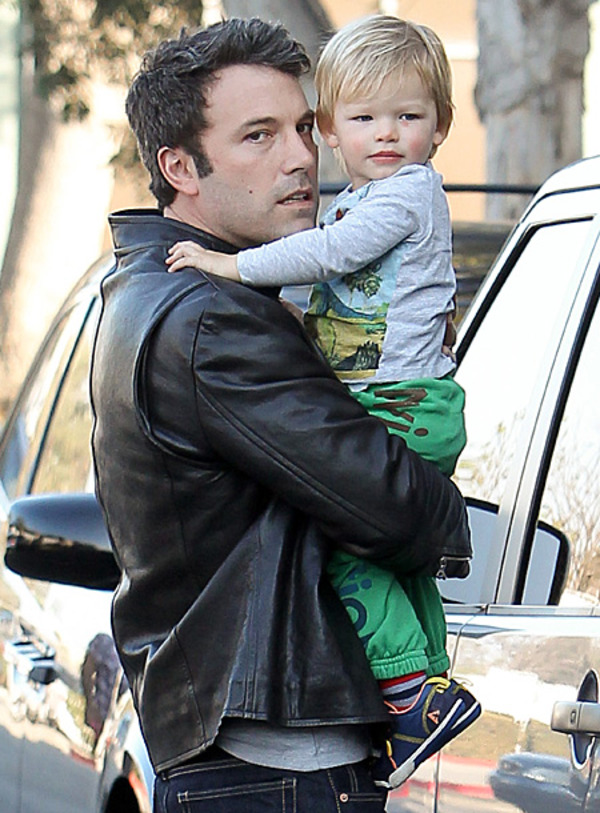 Ben Affleck with his son Sam