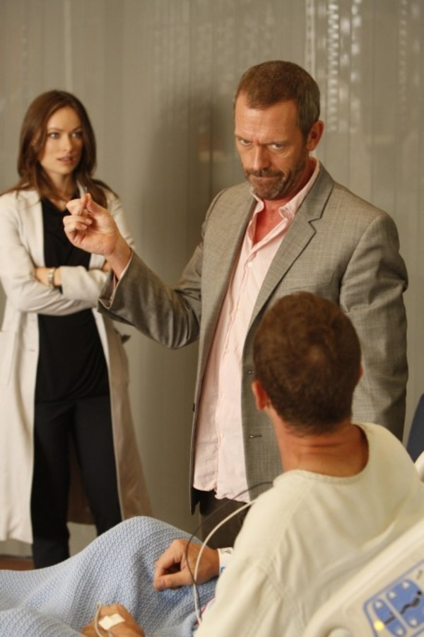 Ethan Embry, Hugh Laurie, and Olivia Wilde in House M.D.