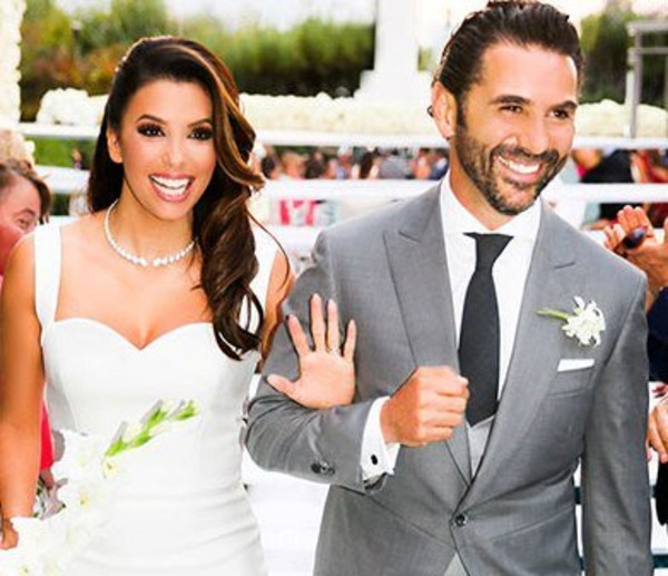 Eva Longoria and Jose Baston wedding in 2016
