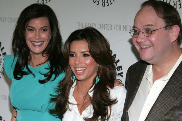 Teri Hatcher, Eva Longoria and Marc Cherry