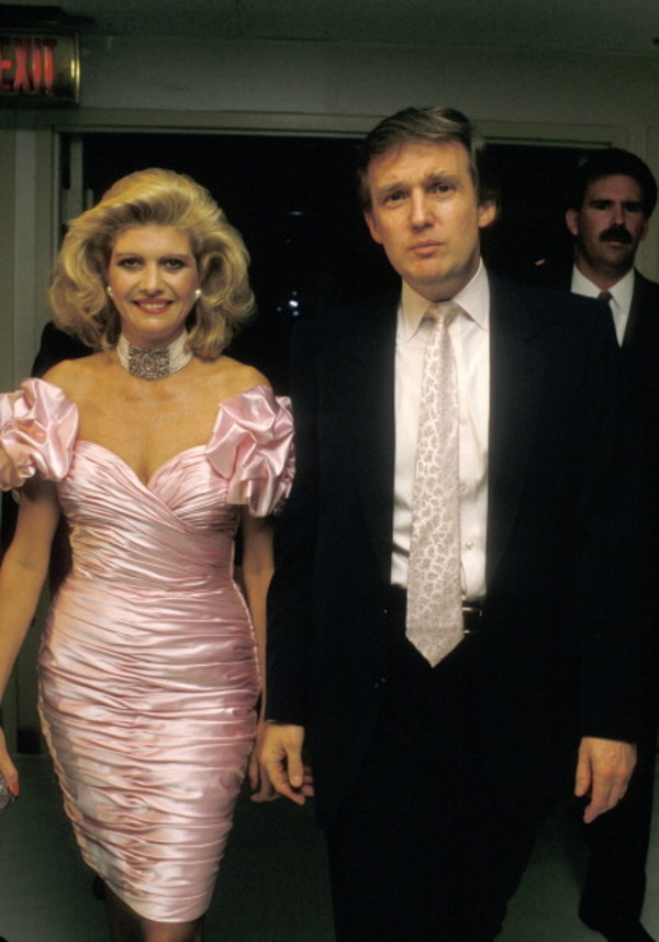 Ivana Trump filed for divorce because of Donald Trump's infidelity