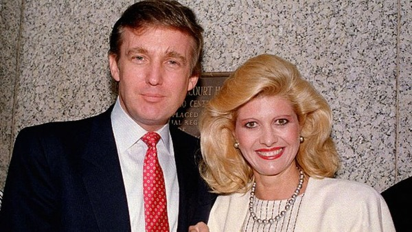 Donald and Ivana Trump wedded in 1977