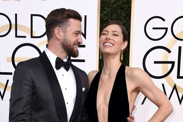 Justin Timberlake and Jessica Biel at first met at Golden Globes
