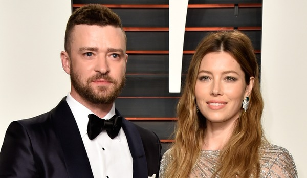 Justin Timberlake and the main woman in his life Jessica Biel