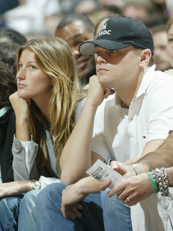 Leonardo Dicaprio and Gisele Bundchen split in 2005