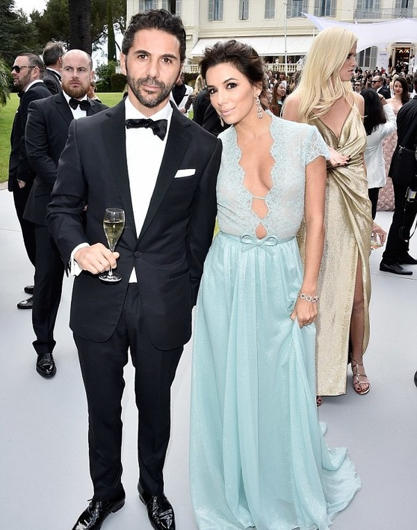 Eva Longoria and Jose Baston look incredibly happy!