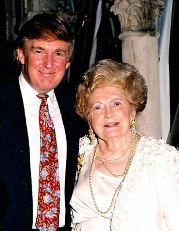 Donald Trump told about his mother very rarely