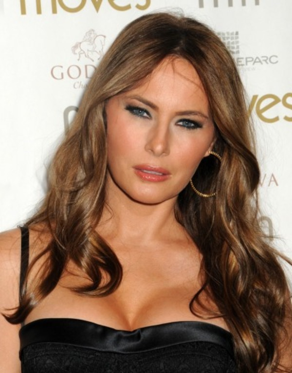 Donald Trump loved Melania Knavs at first sight