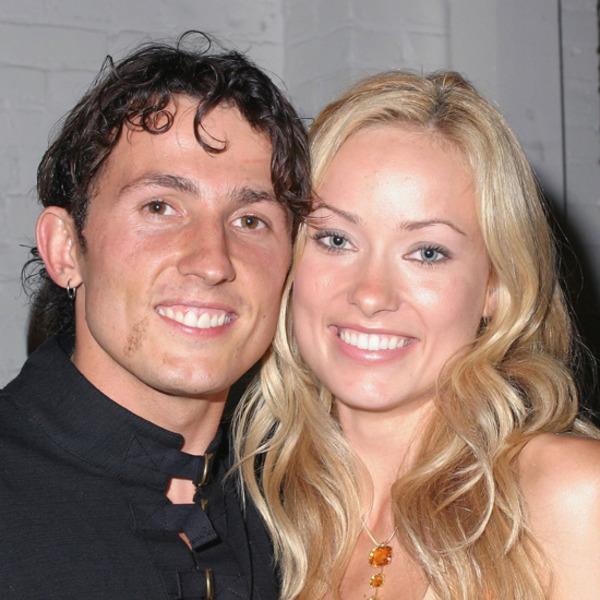 Olivia Wilde with her husband Tao Ruspoli