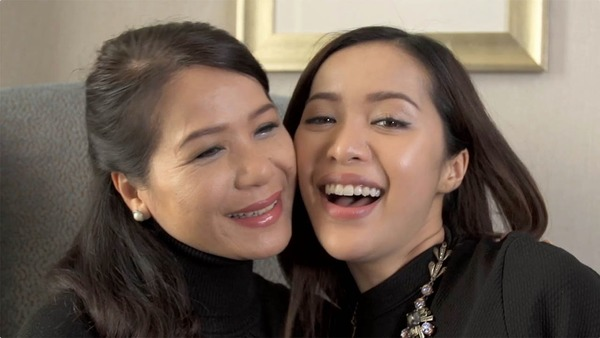 Michelle Phan with her mother Sharon